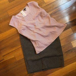 Rafaella Skirts - Brown Pencil Skirt
